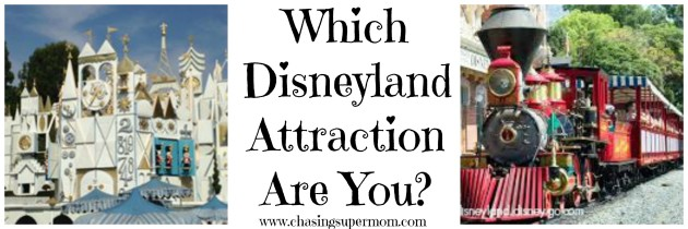 What Disneyland Attraction Are You?