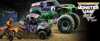 Monster Jam Triple Threat Series in Portland February 25th and 26th