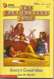 babysitter's club book, babysitter's club book cover