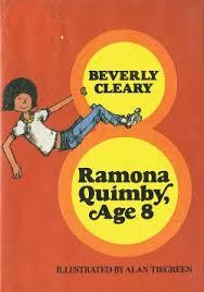 Ramona quimby age 8, 80's ramona cover