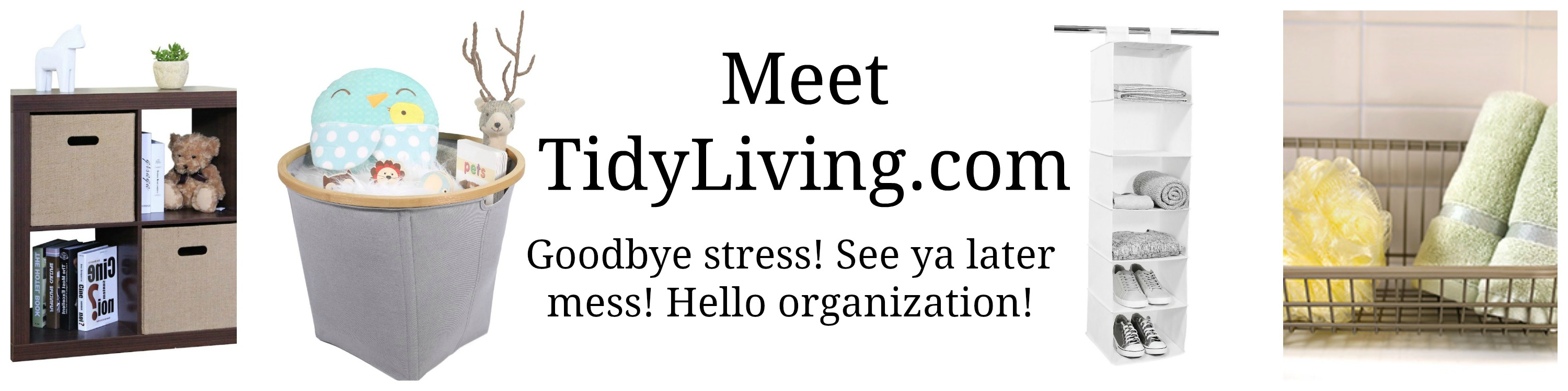 Organization Solutions from Tidy Living + Tidy Living Shoe Rack Giveaway