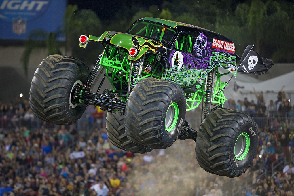 Monster Jam, Grave Digger, Monster Jam Triple Threat