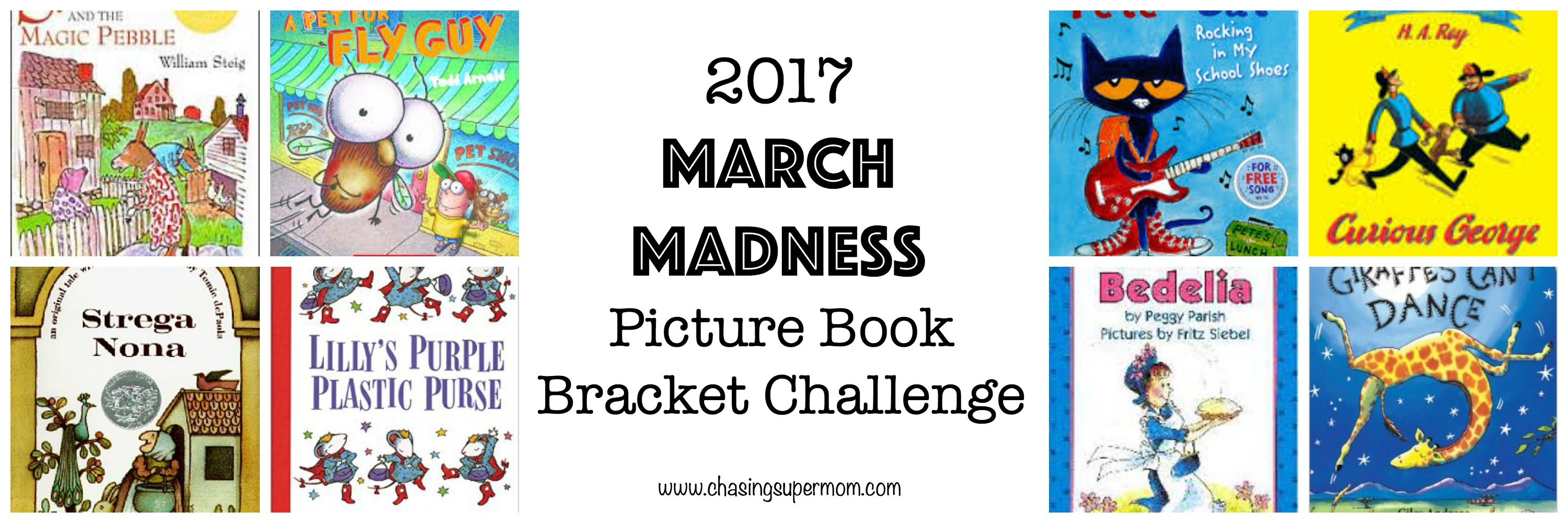 2017 March Madness Picture Book Bracket Challenge