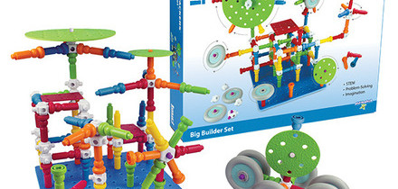 Action-Stackers™ Big Builder Set: Awesome STEM Toy for Kids