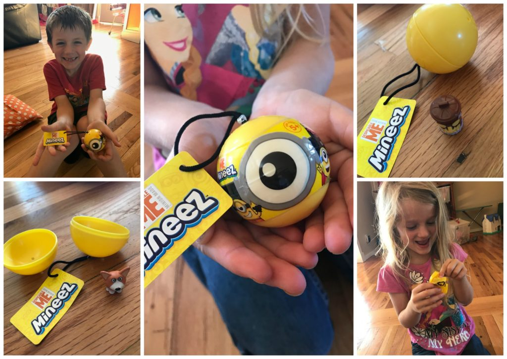 mineez, despicable me blind bags