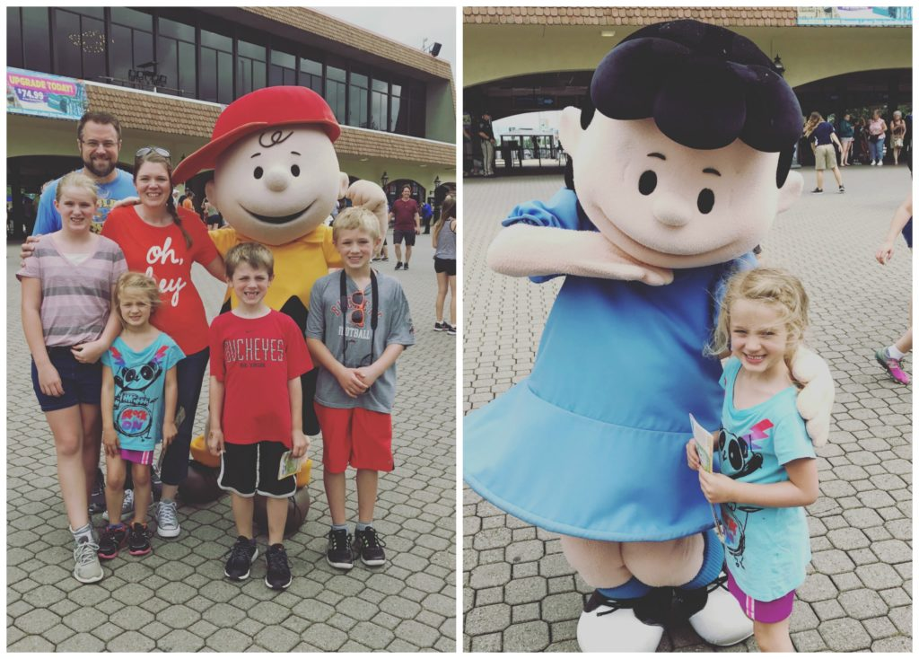 8 reasons to visit kings island chasing supermom our kids were excited to stop and meet charlie brown and lucy we didnt need to wait in a long line to snap our pics and the characters were very sweet to m4hsunfo