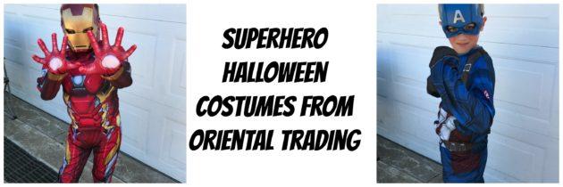 Superhero Halloween Costumes From Oriental Trading