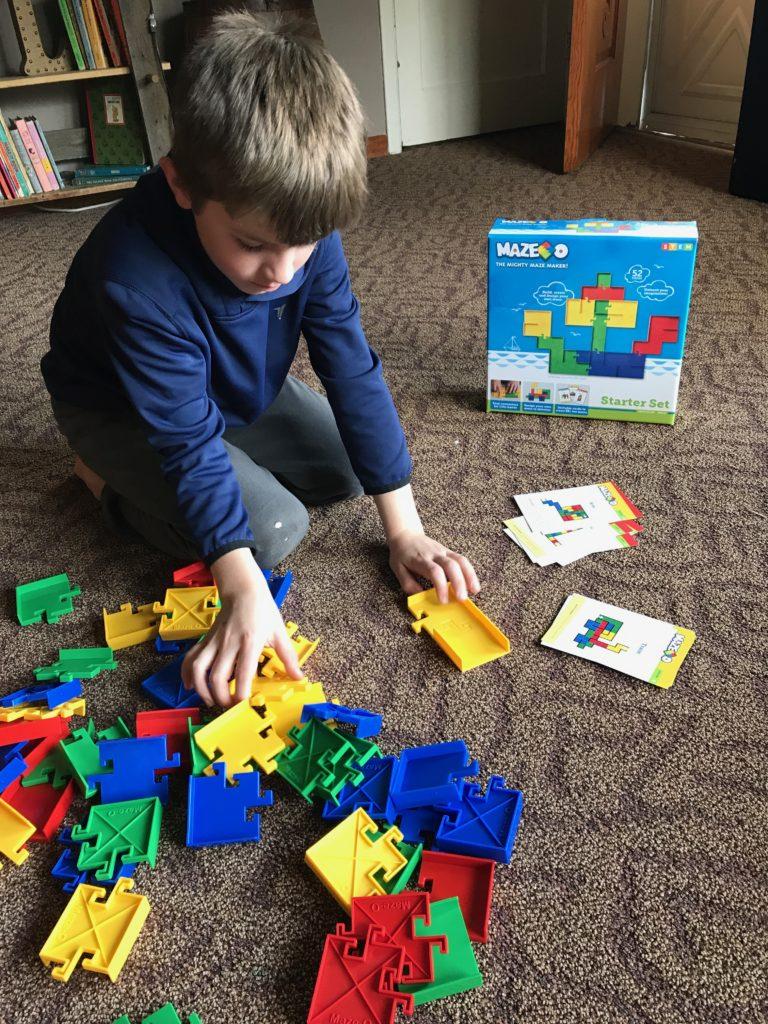 Maze-O, STEM toys, STEM puzzles, maze toys