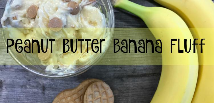 Peanut Butter Banana Fluff