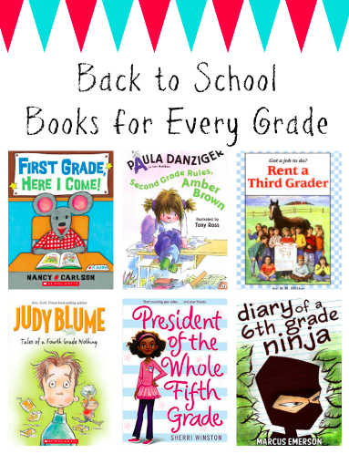 books for every grade, first grade books, second grade books, third grade books, fourth grade books, fifth grade books, sixth grade books