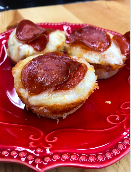 pizza cups, pizza bites, biscuit pizza