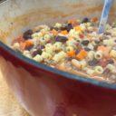 Quick and Easy Pasta E Fagioli Soup