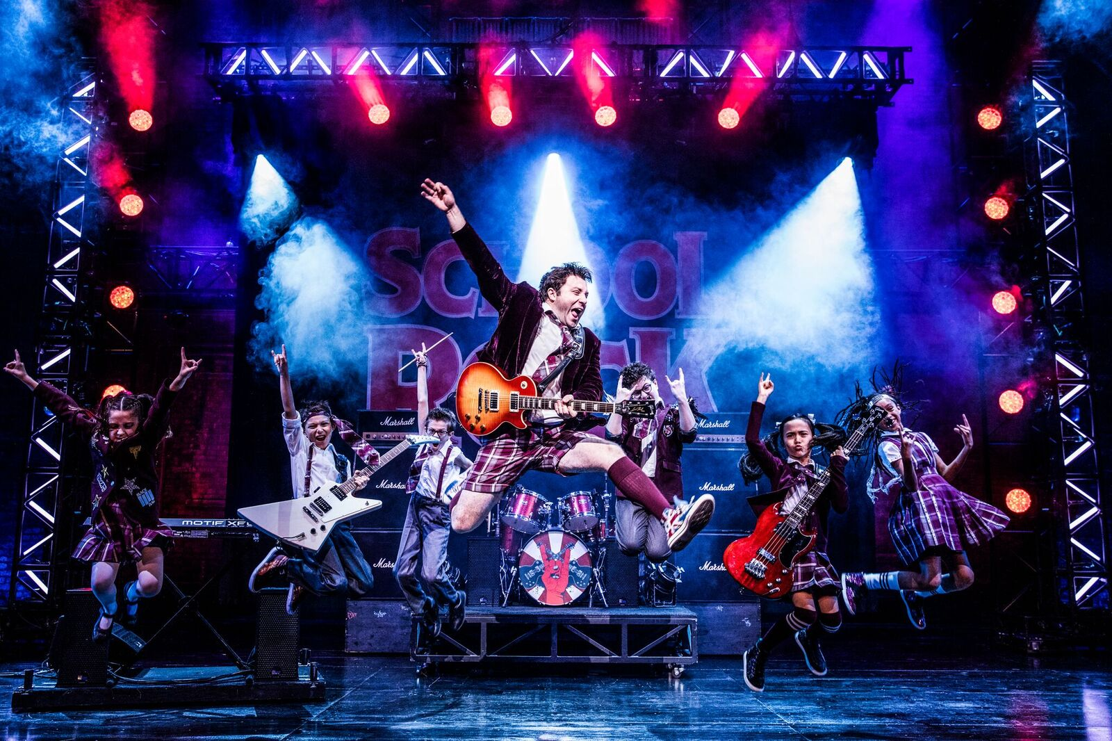 School of Rock is in Portland, Oregon! Get Your Tickets!