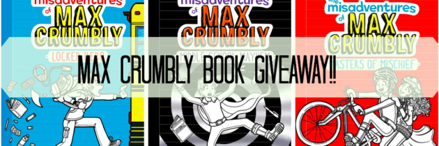 The Misadventures of Max Crumbly: Book Series Giveaway! (Great Series for Middle Schoolers!)