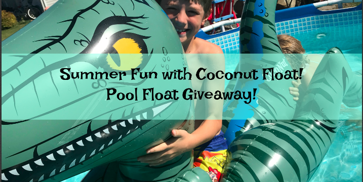 Summer Fun with Coconut Float: Pool Float Giveaway