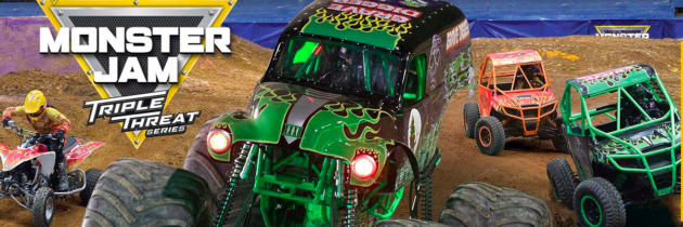 Monster Jam Triple Threat Series is Coming to Portland!