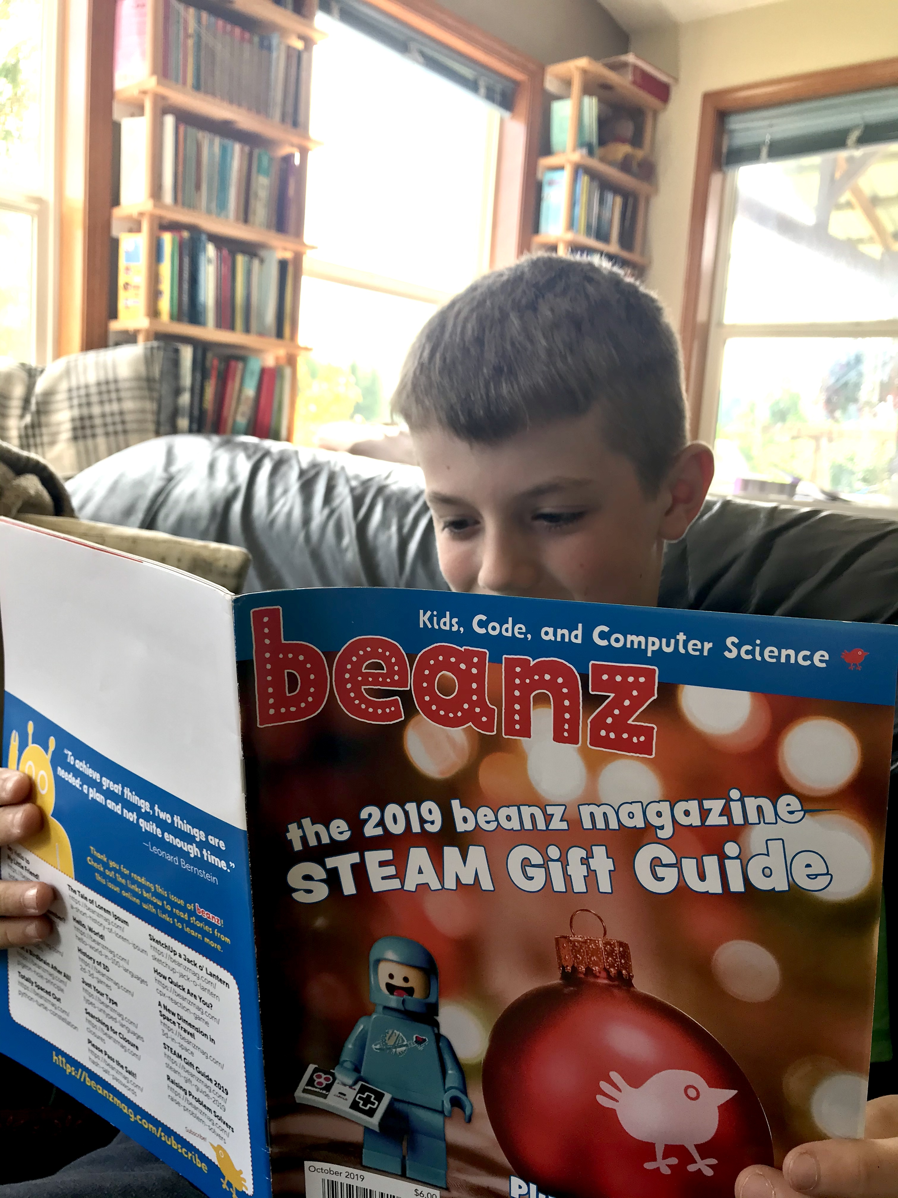 beanz: The Magazine for Kids, Code, and Computer Science