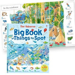 Usborne Big Book of Things to Spot from Timberdoodle Co.!