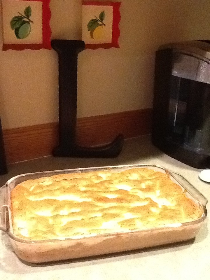Angel-Pie Breakfast Cake