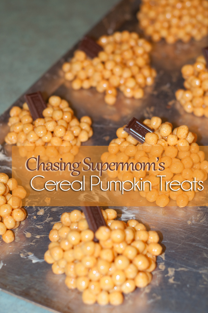 Cereal Pumpkin Treats
