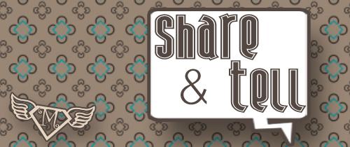 Share and Tell – Activity, Recipe, and Idea Linky