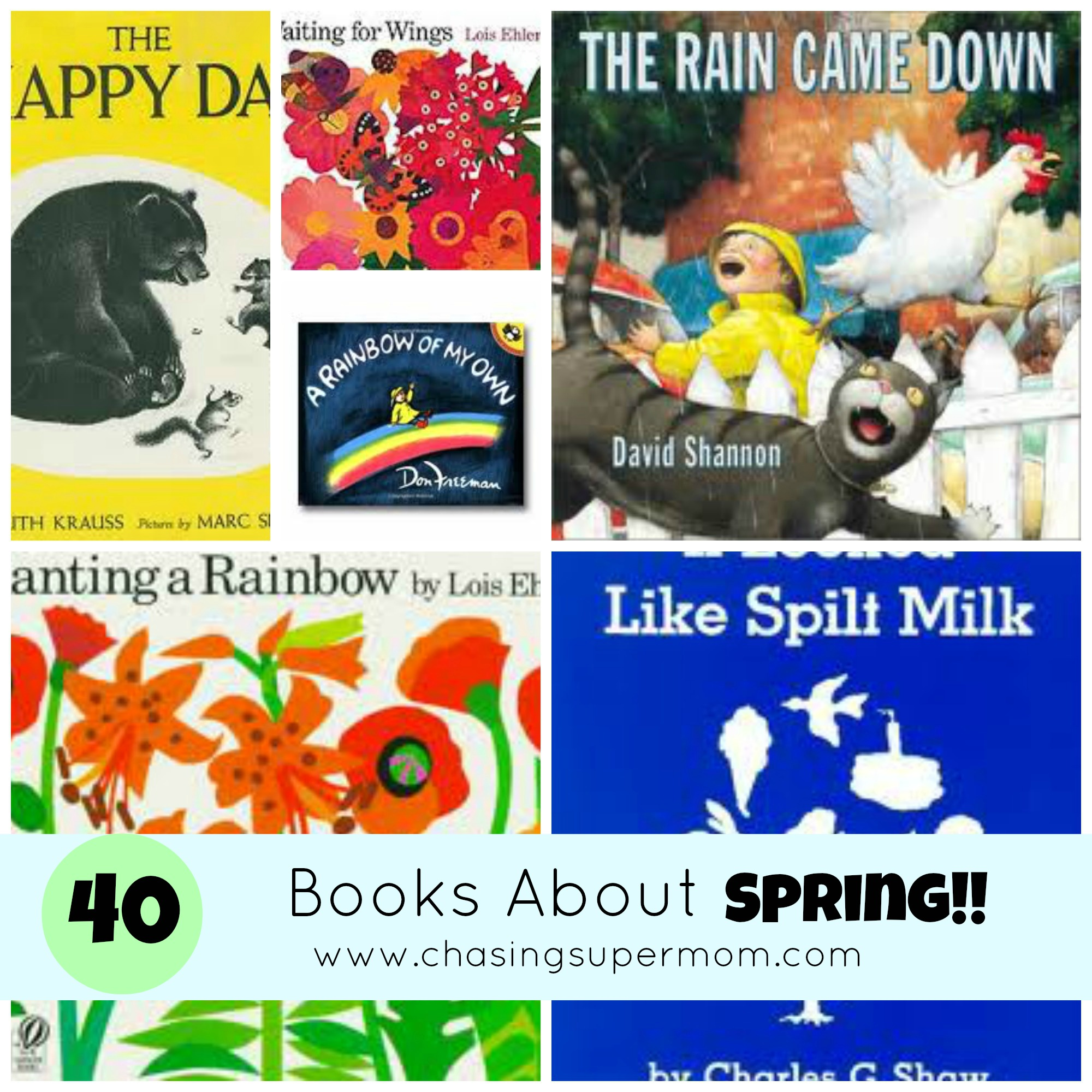 40 Books About Spring