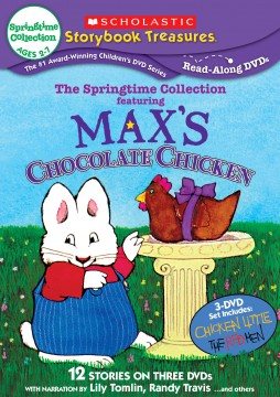 Scholastic Storyboook Treasures – The Springtime Collection DVD Giveaway!