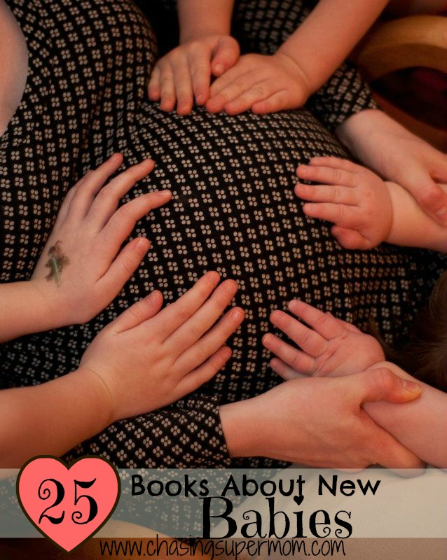 25 Books About New Babies for Kids