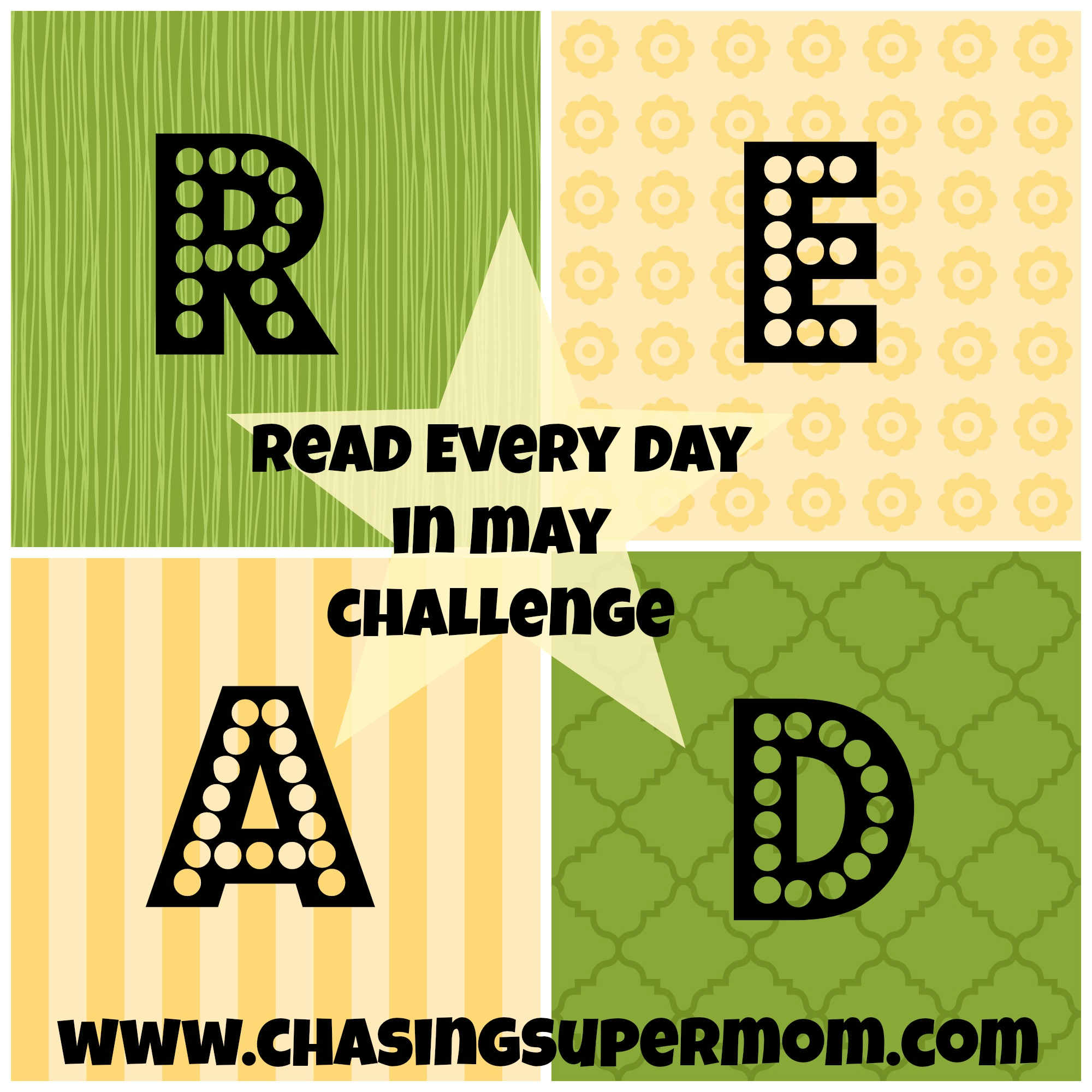 READ Every Day in May Challenge