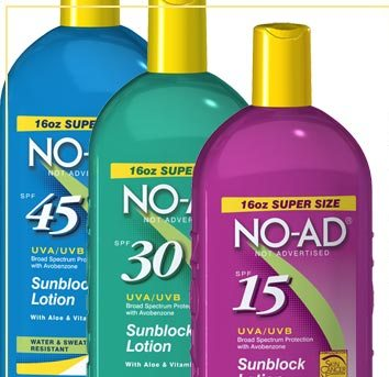 NO-AD® Sun Care Review and Giveaway