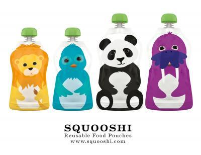 Squooshi Reusable Food Pouches