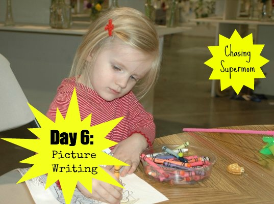 Ready for Kindergarten Day Six: Picture Writing