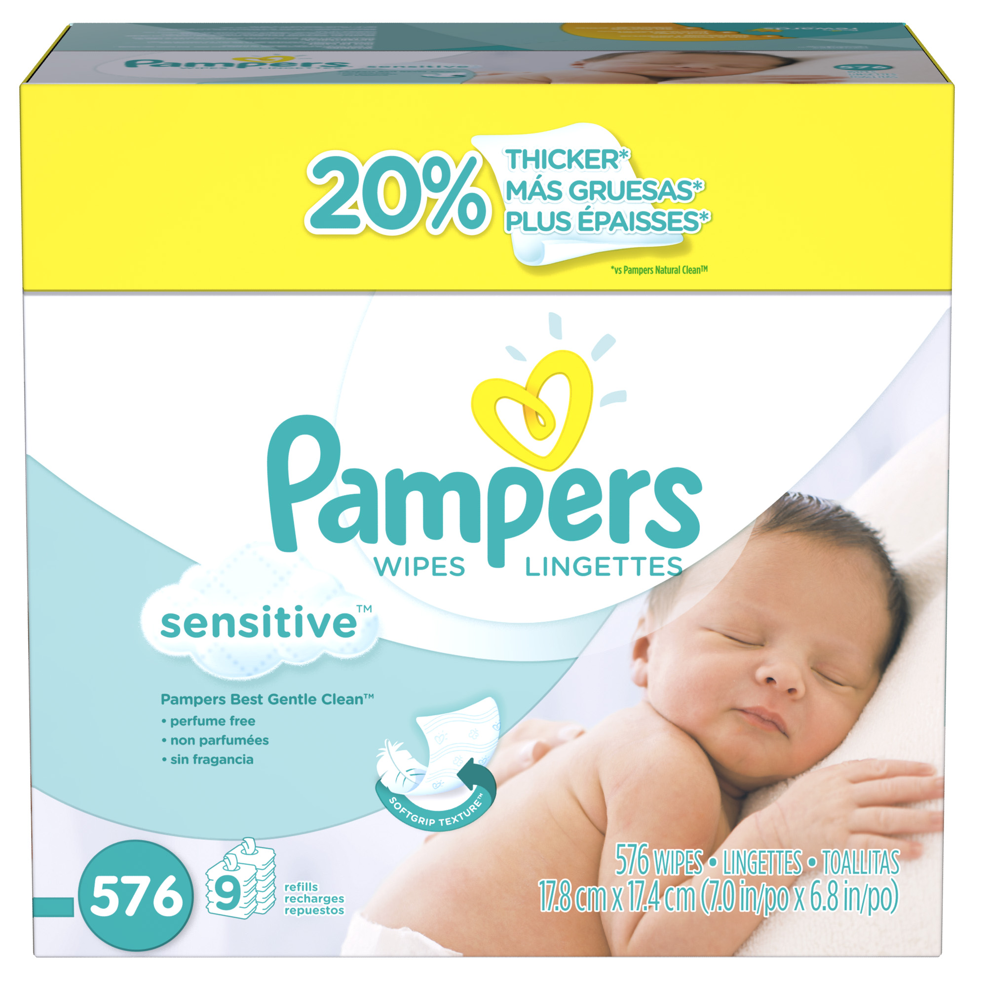 Check out the All New Pampers Diapers AND enter a Babies R US Giveaway!!
