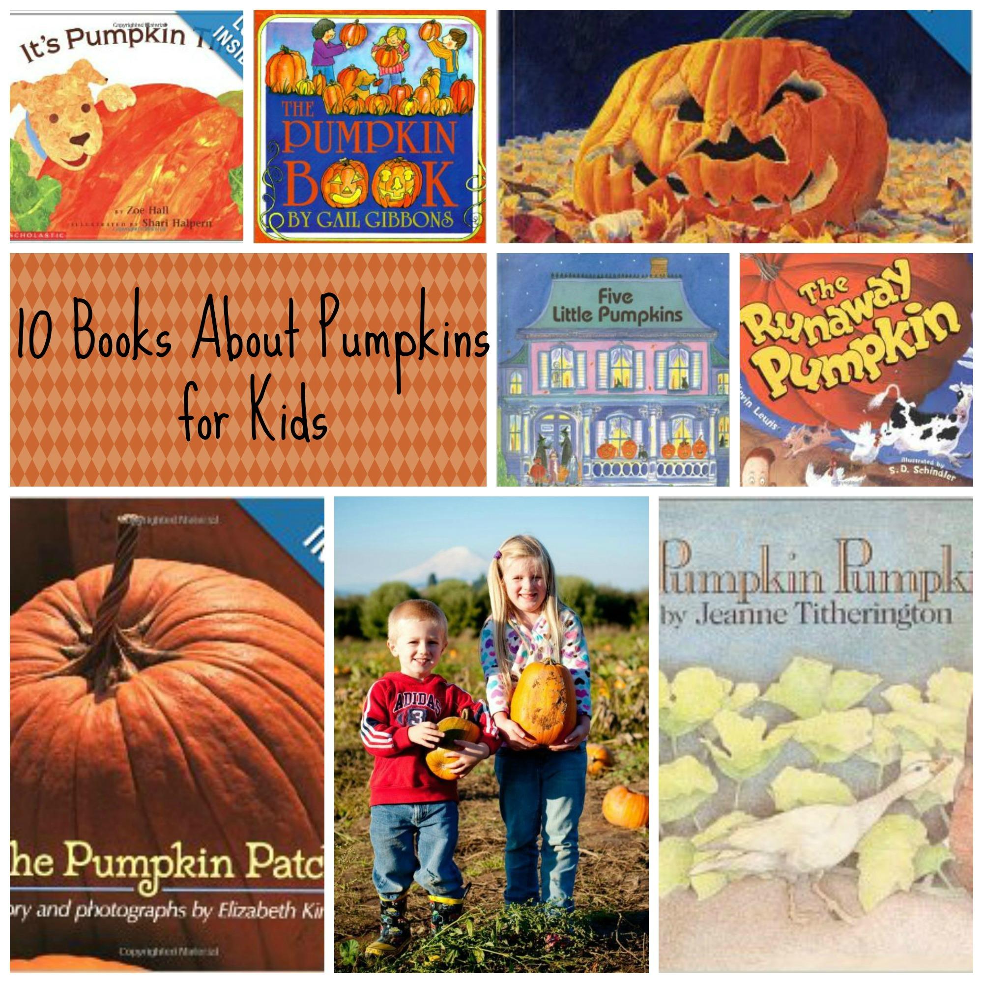 10  Books About Pumpkins for Kids – Pumpkin Preschool Books