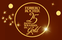 25 Days Wrapped in Gold Sweepstakes from Ferrero Rocher