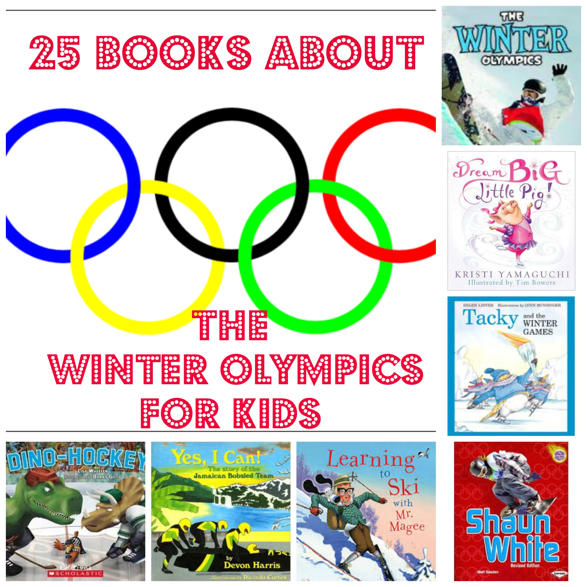 25 Books About the Winter Olympics for Kids
