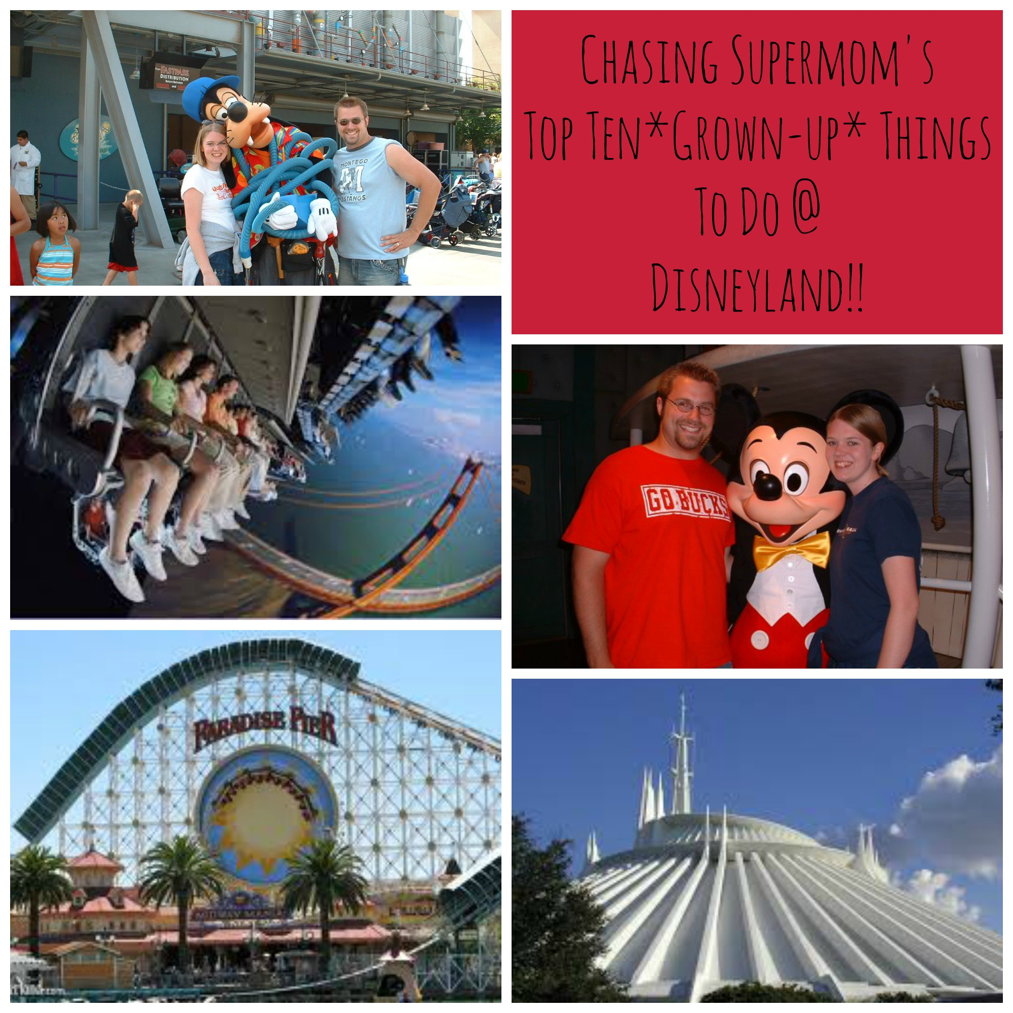 Top Ten Things for Adults to Do at Disneyland