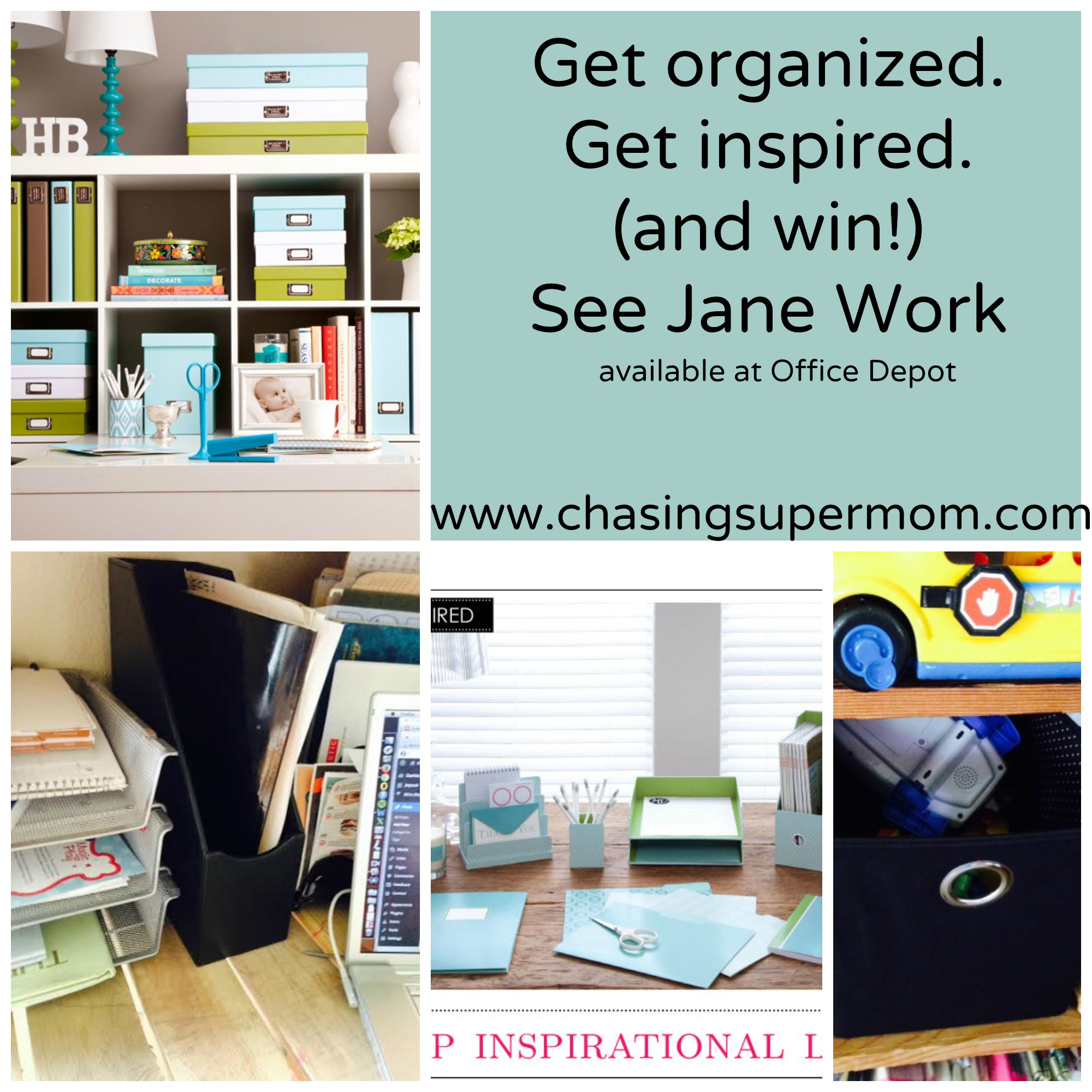 Organize in Style with See Jane Work from Office Depot – Giveaway!