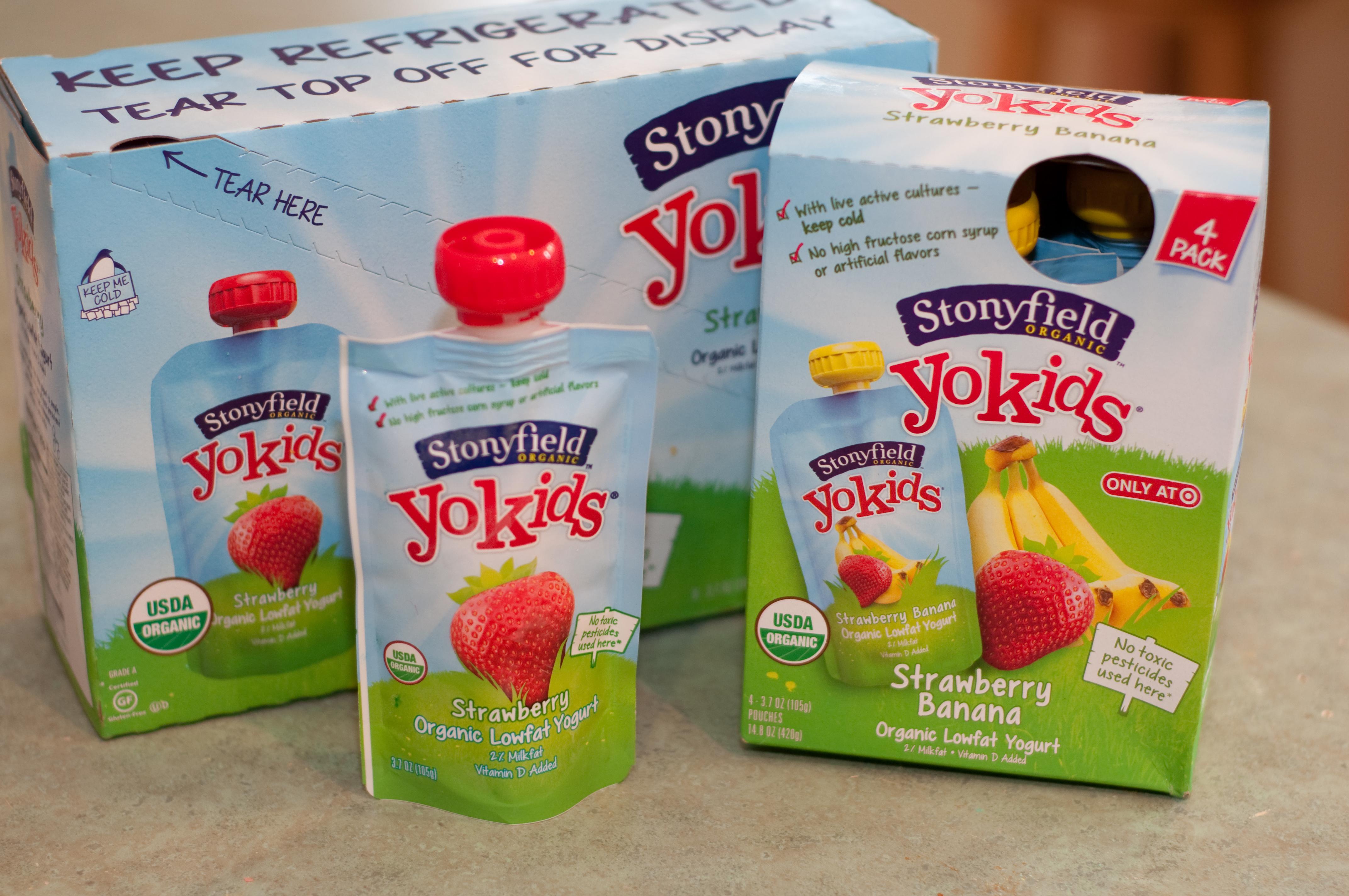 Stonyfield Yogurt – Nutritious & Convenient Snack for Children