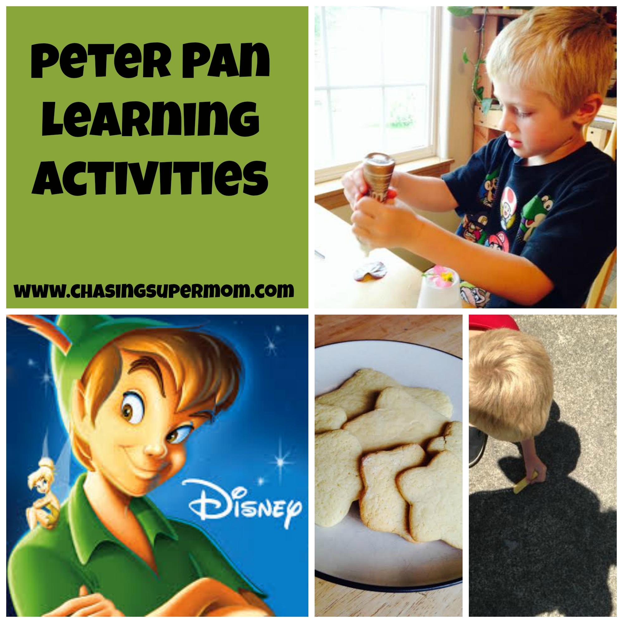 Peter Pan Learning Activities – Peter Pan Curriculum Ideas