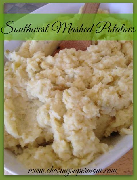 Southwest Mashed Potatoes