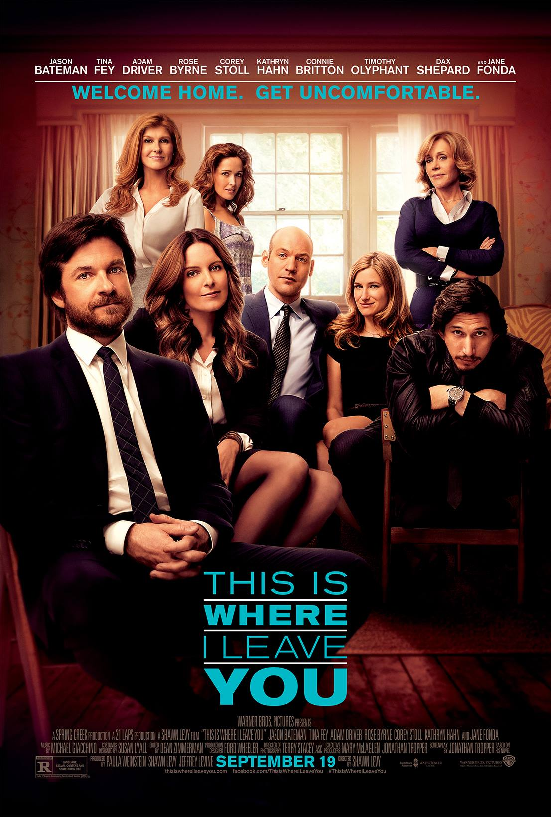 This is Where I Leave You – Movie Trailer #TIWILY