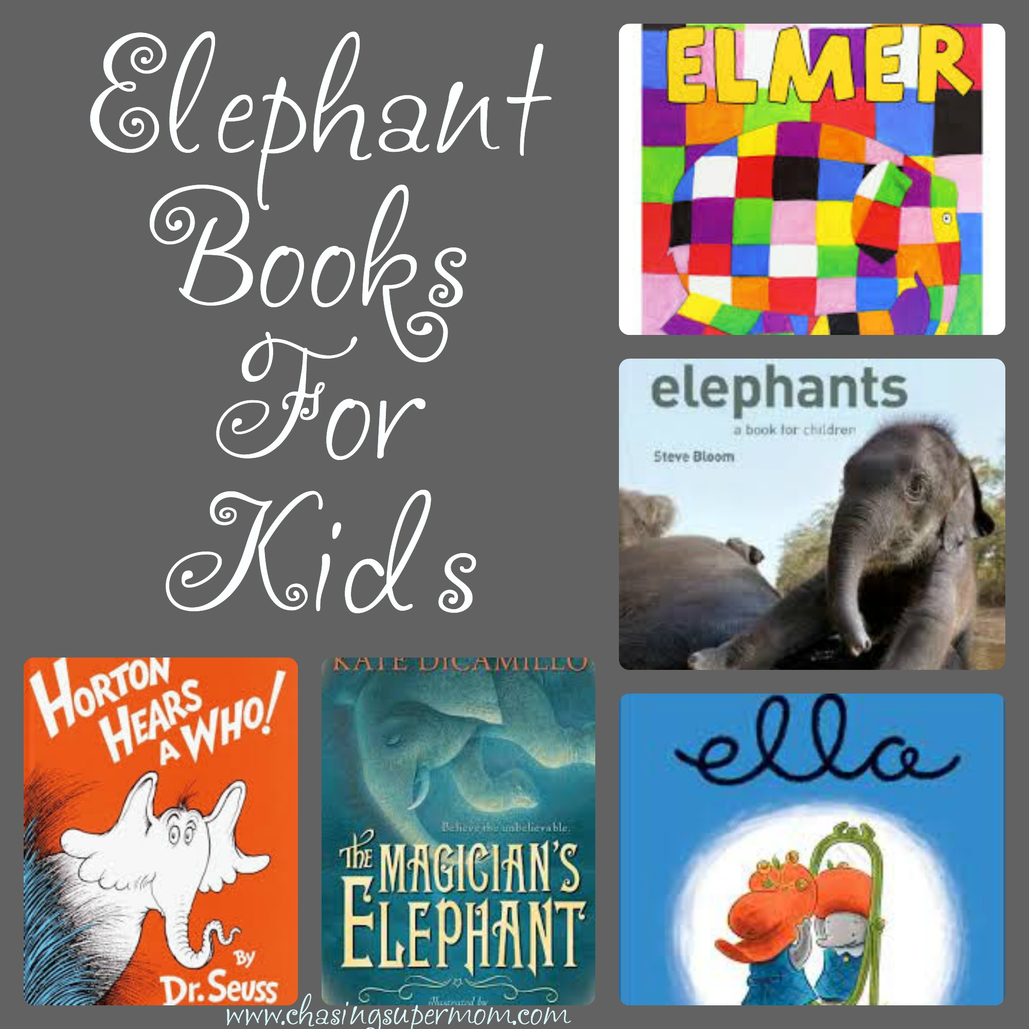 Books About Elephants : Elephant Books for Kids and Adults