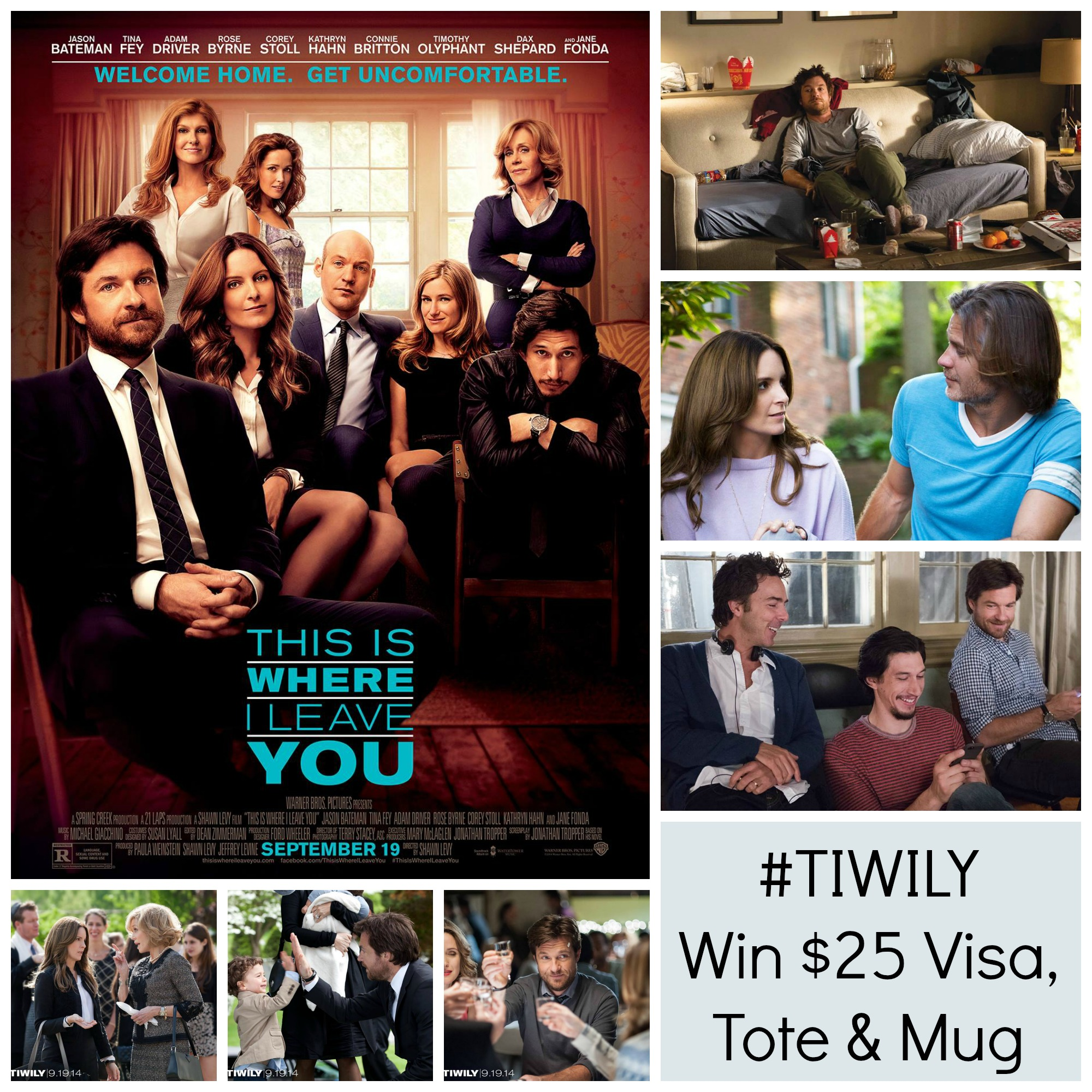 This is Where I Leave You – Visa Gift Card Giveaway #TIWILY