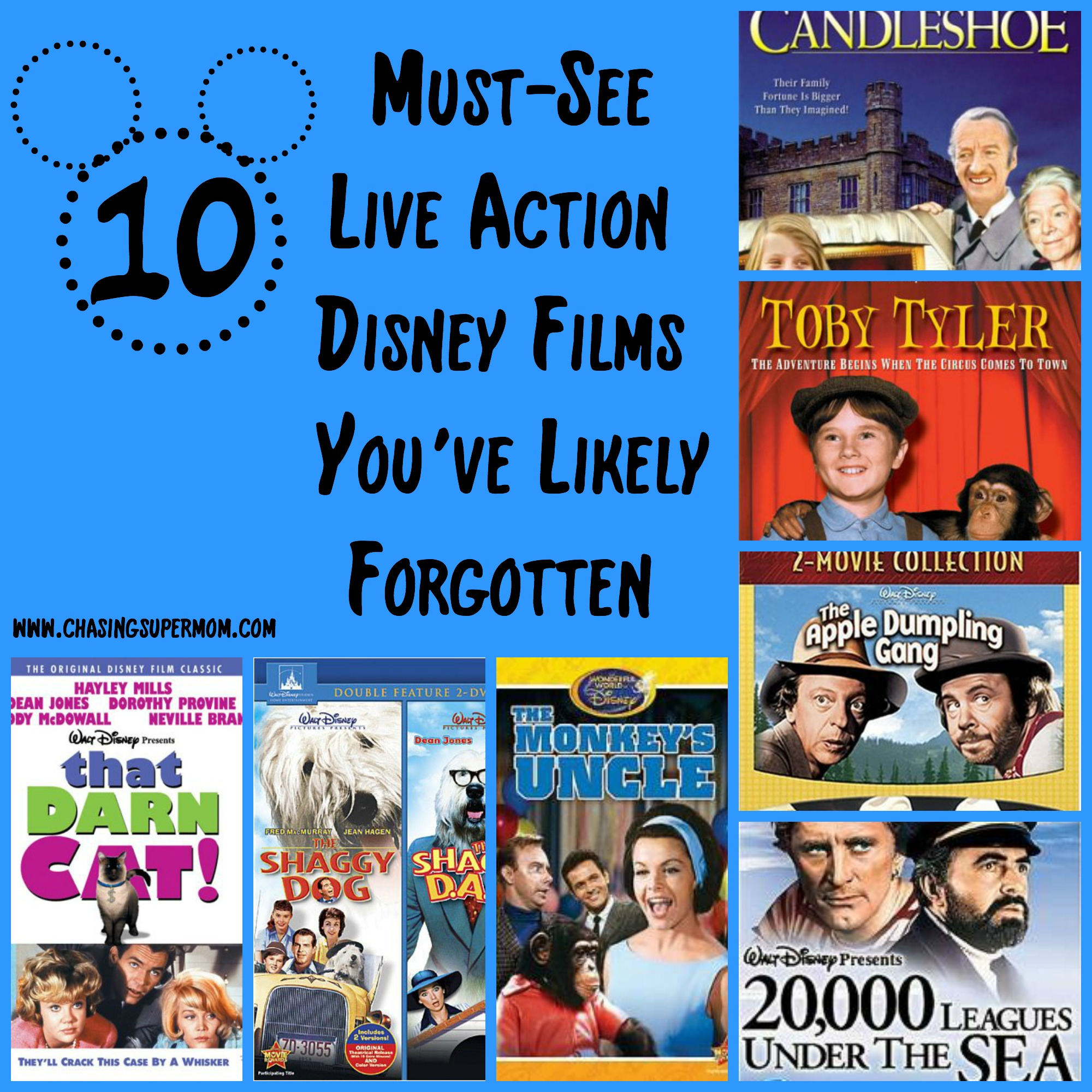 10 Must-See Live Action Disney Films You've Likely Forgotten