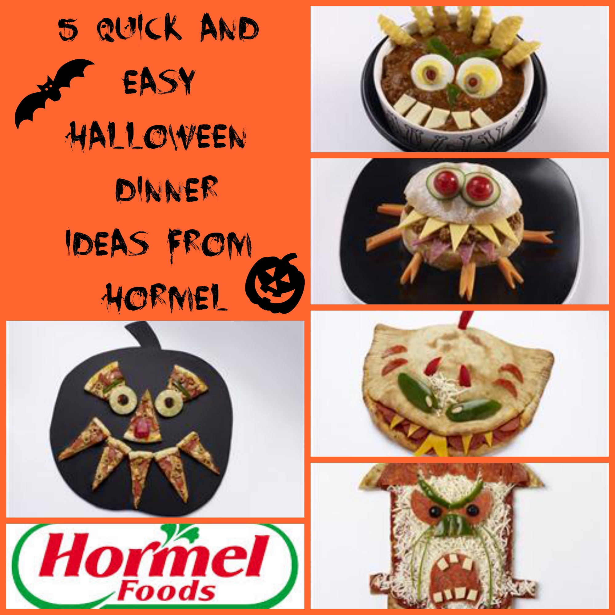 Quick & Easy Halloween Dinners from Hormel