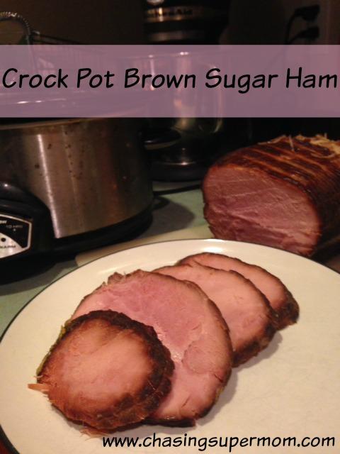 Crock Pot Brown Sugar Ham
