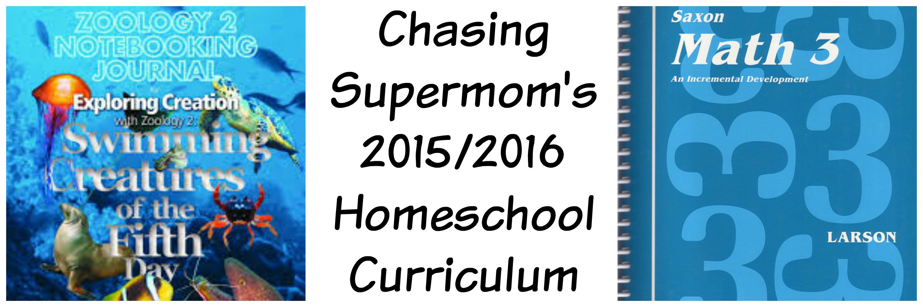 Chasing Supermom's Homeschool Curriculum 2015/2016