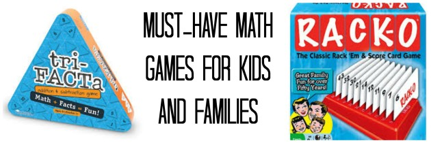 Must-Have Math Games for Kids and Families