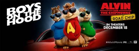 Alvin and the Chipmunks: The Road Chip Giveaway